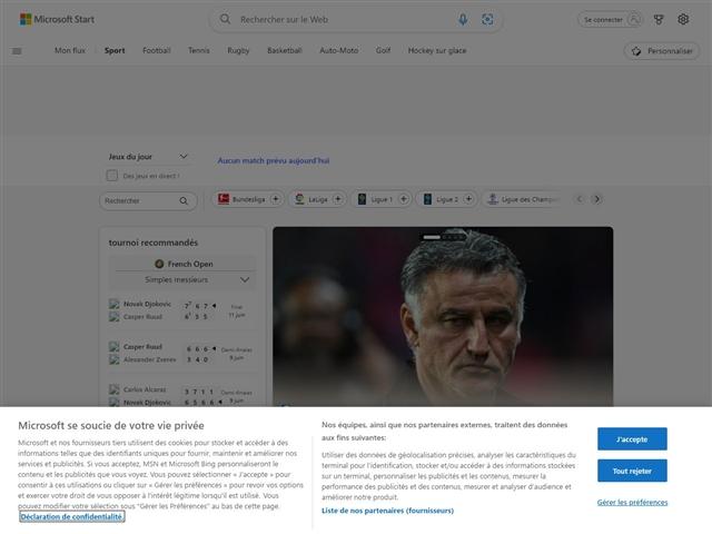 MSN : Sport