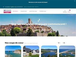 Parcours Vacances : Séjours groupes