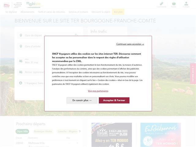 TER Bourgogne Franche-Comté