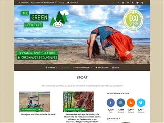 THE GREEN GEEKETTE | aventures sportives