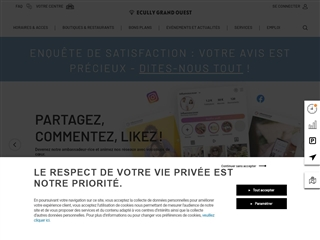 Centre commercial Ecully Grand Ouest