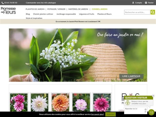 Promesse de Fleurs : Blog