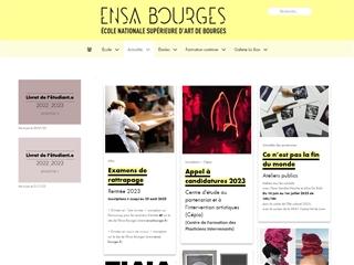 École nationale supérieure d'arts de Bourges (ENSA)