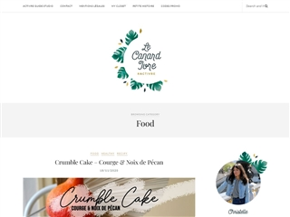 Le Canard Ivre : Food