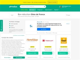 Ma-reduc.com : Gîtes de France
