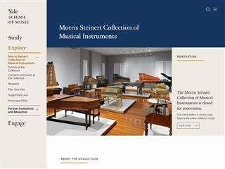 Collection d'instruments de musique de Yale