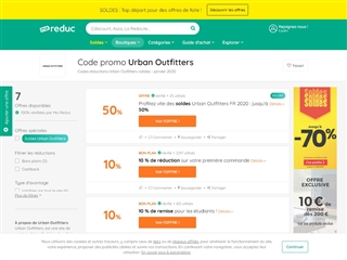Ma-reduc.com : Urban Outfitters