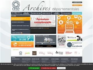 Oise (60) - Archives départementales