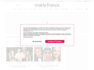 Marie France : People
