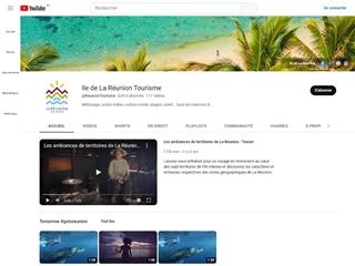 Tourisme à la Réunion (Youtube)