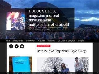 Dubuc's blog