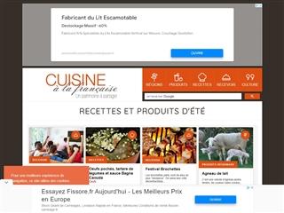 Cuisine à la Française