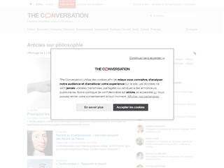 The Conversation : Philosophie