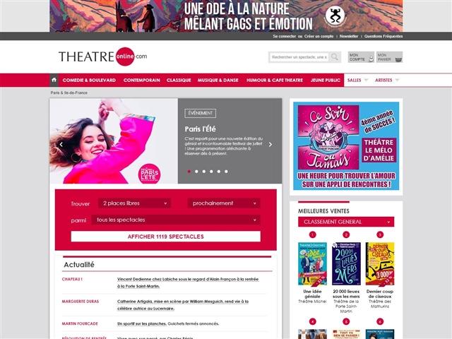 Théâtre Online