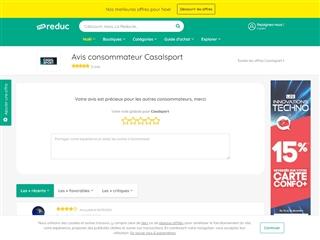 Ma-reduc.com : Casal Sport