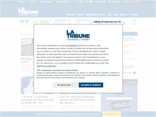 La Tribune : Bourse