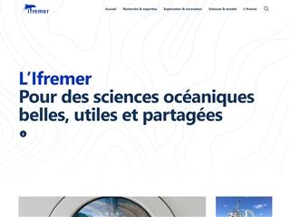 IFREMER (Institut français de recherche pour l'exploitation de la mer)