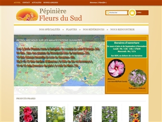 Pépinière Fleurs du Sud