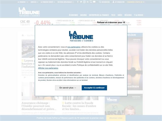 La Tribune : Finance et Patrimoine