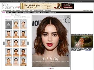 Logiciel de coiffure visagiste gratuit - Coiffeur visagiste simulation ...