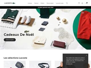 Lacoste - Boutique en ligne