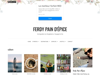 Ferdy Pain d'Epice : Culture