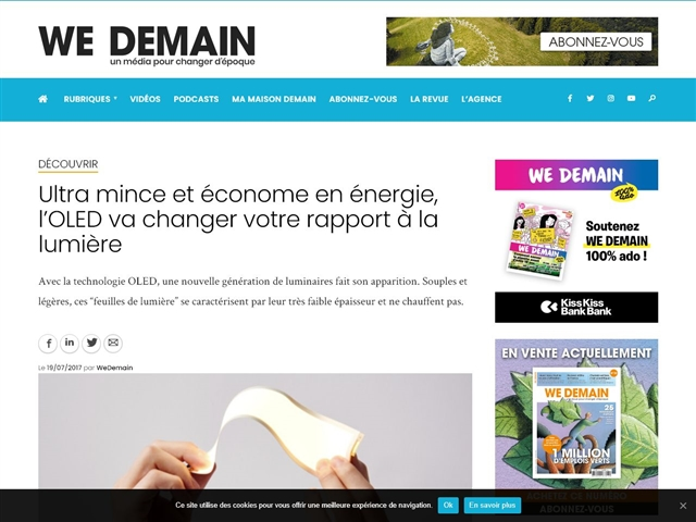 WeDemain : Economie