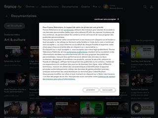 FranceTV : Documentaires Art et Culture