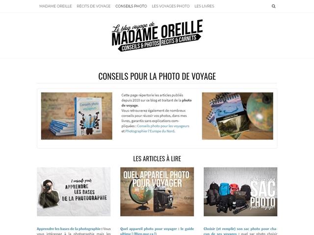 Madame Oreille : Conseils photos
