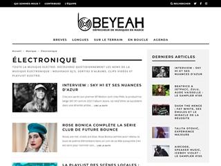 BeYeah : Musique électronique