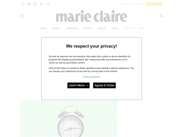 Marie Claire : Lifestyle