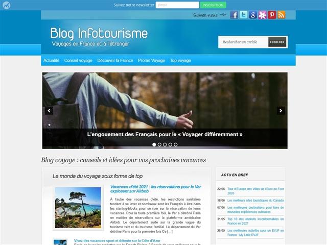 Blog Infotourisme