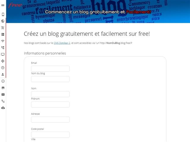 Free : Blogs