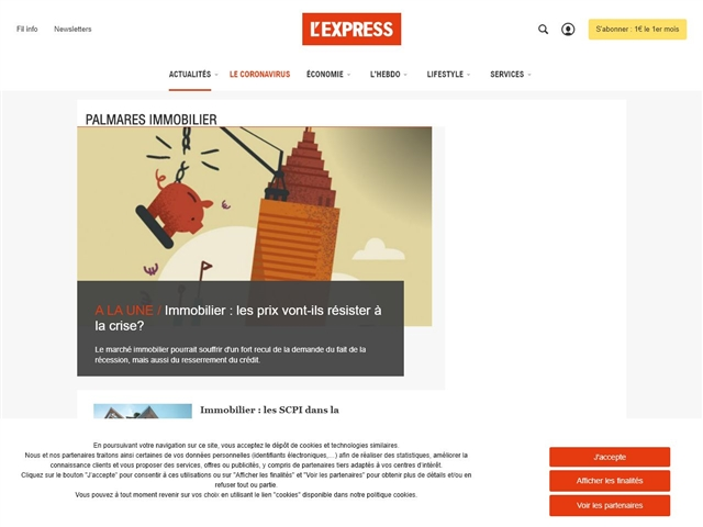 L'Express : Immobilier