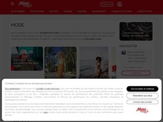 Maxi Mag : Mode