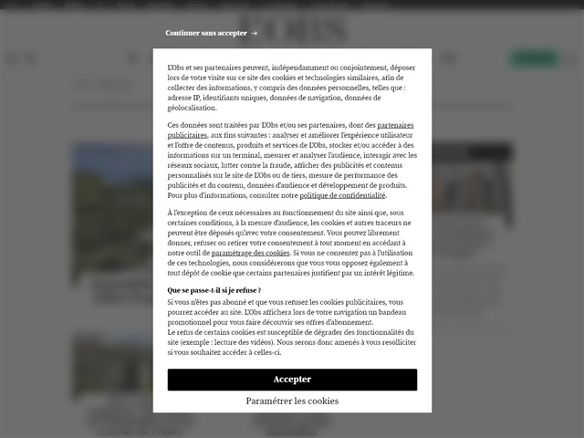 L'Obs : Immobilier