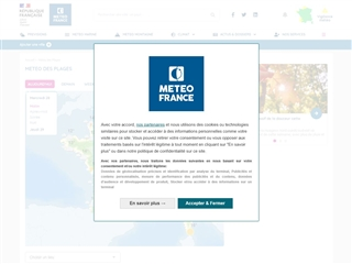 Météo France : Mer et météo des plages