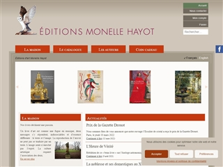 Editions Monelle Hayot