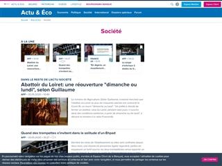 Boursorama : Société