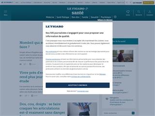 Le Figaro : Bien-être et santé