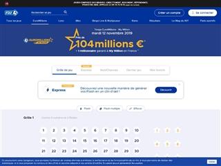 Résultats de l'Euro Millions
