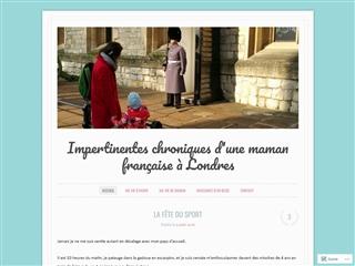 Les impertinentes chroniques d'une Française à Londres