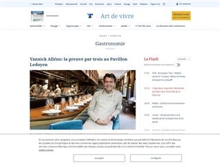 Le Figaro : gastronomie