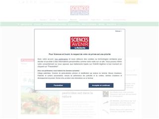 Sciences et Avenir : Agriculture
