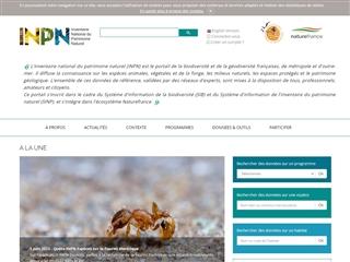 INPN - Inventaire National du Patrimoine Naturel