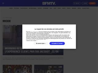 BFM TV : Mode