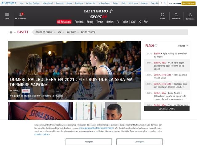 Sport24 : Basket