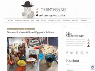 Chut Mon Secret : Adresses Gourmandes