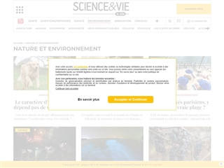Science et Vie : Nature et environnement