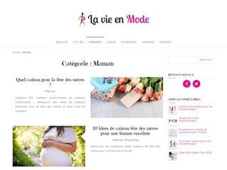 La Vie en Mode : Maman
